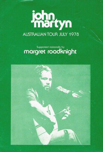 1978 Australian Tour Programme Front