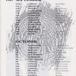 Foundation Tour Dates