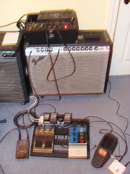 Home 1970s JM Guitar Set Up